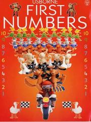 Cover of: Usborne First Numbers (Everyday Words) | Jo Litchfield, Felicity Brooks