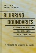Cover of: Blurring Boundaries | Peggy O