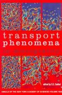 Cover of: Transport Phenomena in Microgravity