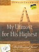 Cover of: My Utmost for His Highest Journal