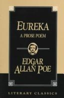 Cover of: Eureka | Edgar Allan Poe