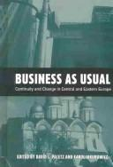 Cover of: Business as usual