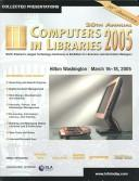 Cover of: 20th annual Computers in Libraries 2005 | Computers in Libraries Conference (20th 2005 Washington, D.C.)