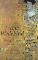 Cover of: Wedekind Four Plays: Volume II