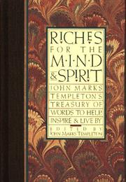 Cover of: Riches for the mind and spirit |