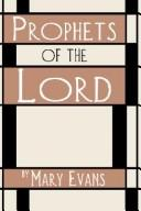 Cover of: Prophets of the Lord | Mary Evans