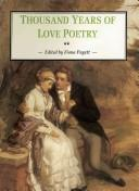 Cover of: Thousand Years of Love Poetry | Fiona Pagett
