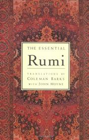 Cover of: The essential Rumi