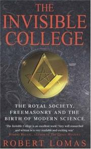 Cover of: The invisible college