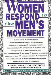 Cover of: Women Respond to the Men's Movement