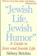 Cover of: Jewish Life, Jewish Humor