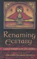 Cover of: Renaming Ecstasy