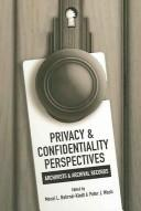 Cover of: Privacy & Confidentiality Perspectives |