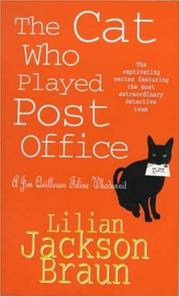 Cover of: The Cat Who Played Post Office (A Jim Qwilleran Feline Whodunnit)