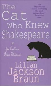Cover of: The Cat Who Knew Shakespeare (A Jim Qwilleran Feline Whodunnit)