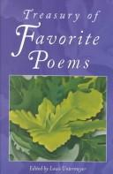 Cover of: Treasury of Favorite Poems