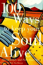 Cover of: 100 Ways to Keep Your Soul Alive