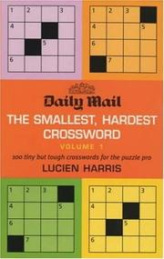 "Cover of: ""Daily Mail"" Smallest, Hardest Crossword"