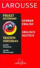 Cover of: Larousse Pocket Dictionary German English-English German |