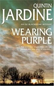 Wearing Purple by Quintin Jardine