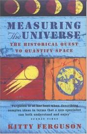 Cover of: Measuring the Universe:The Historical Quest to Quantify Space