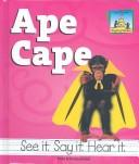 Cover of: Ape Cape (Rhyming Riddles)