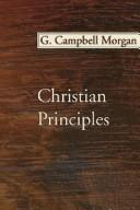 Cover of: Christian principles