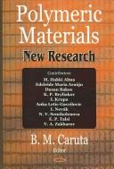 Cover of: Polymeric materials |