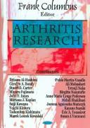 Cover of: Arthritis Research