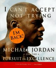 Cover of: I can't accept not trying