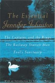 Cover of: The Essential Jennifer Johnston | Jennifer Johnston