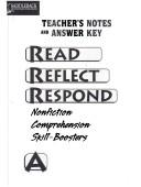 Cover of: Read Reflect Respond a Answer Key (Read Reflect Respond)