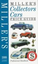 Cover of: Miller's Collectors Cars Price Guide 1999-2000 (Miller's Collectors Cars Price Guide)