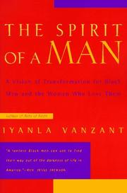 Cover of: The Spirit of a Man | Iyanla Vanzant