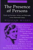 Cover of: The presence of persons