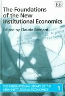 Cover of: International library of The New Institutional Economics (Elgar Mini Series) |