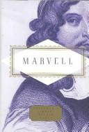Cover of: Marvell Poems