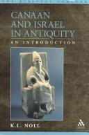 Cover of: Canaan and Israel in Antiquity