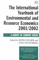 Cover of: The International Yearbook of Environmental and Resource Economics 2001/2002 |