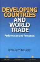 Cover of: Developing countries and world trade
