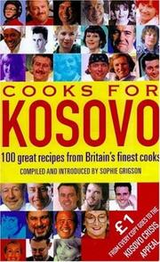 Cover of: Cooks for Kosovo
