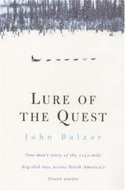 Cover of: Lure of the Quest