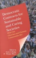Cover of: Democratic Contracts for Sustainable and Caring Societies |