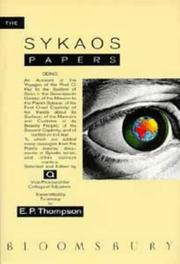 Cover of: The Sykaos papers