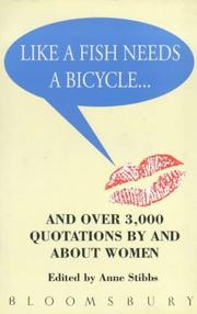 Cover of: Like a Fish Need a Bicycle and Over 3000