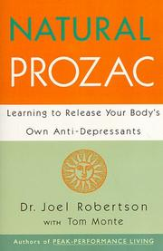 Natural Prozac by Joel C. Robertson