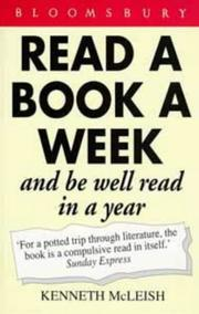 Cover of: Read a Book a Week