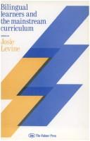 Cover of: Bilingual learners and the mainstream curriculum |