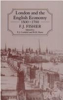Cover of: London and the English Economy, 1500-1700 | F. J. Fisher