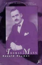 Cover of: Thomas Mann: a biography